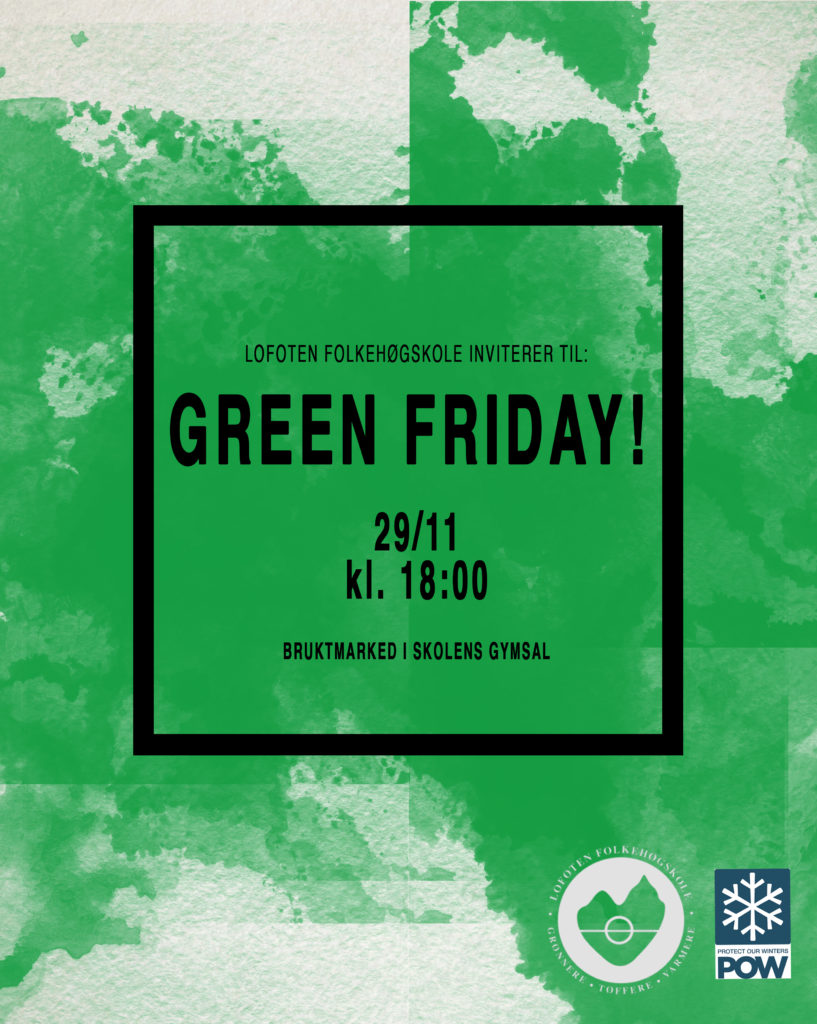Green friday Lofoten folkehøgskole