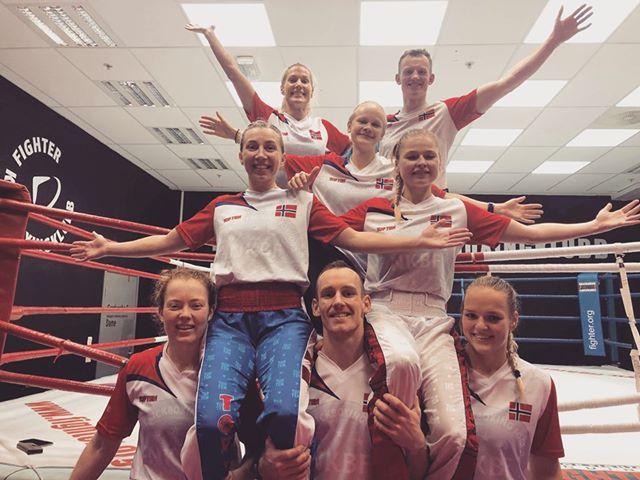 landslagssamling kickboksing