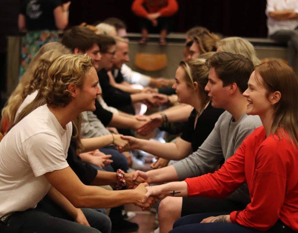 Elevene på folkehøgskolene forteller om et helt unikt sosialt miljø. Bilde: Jæren folkehøgskole
