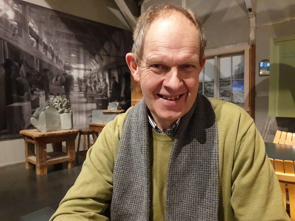 Olav Sandnes far portrett