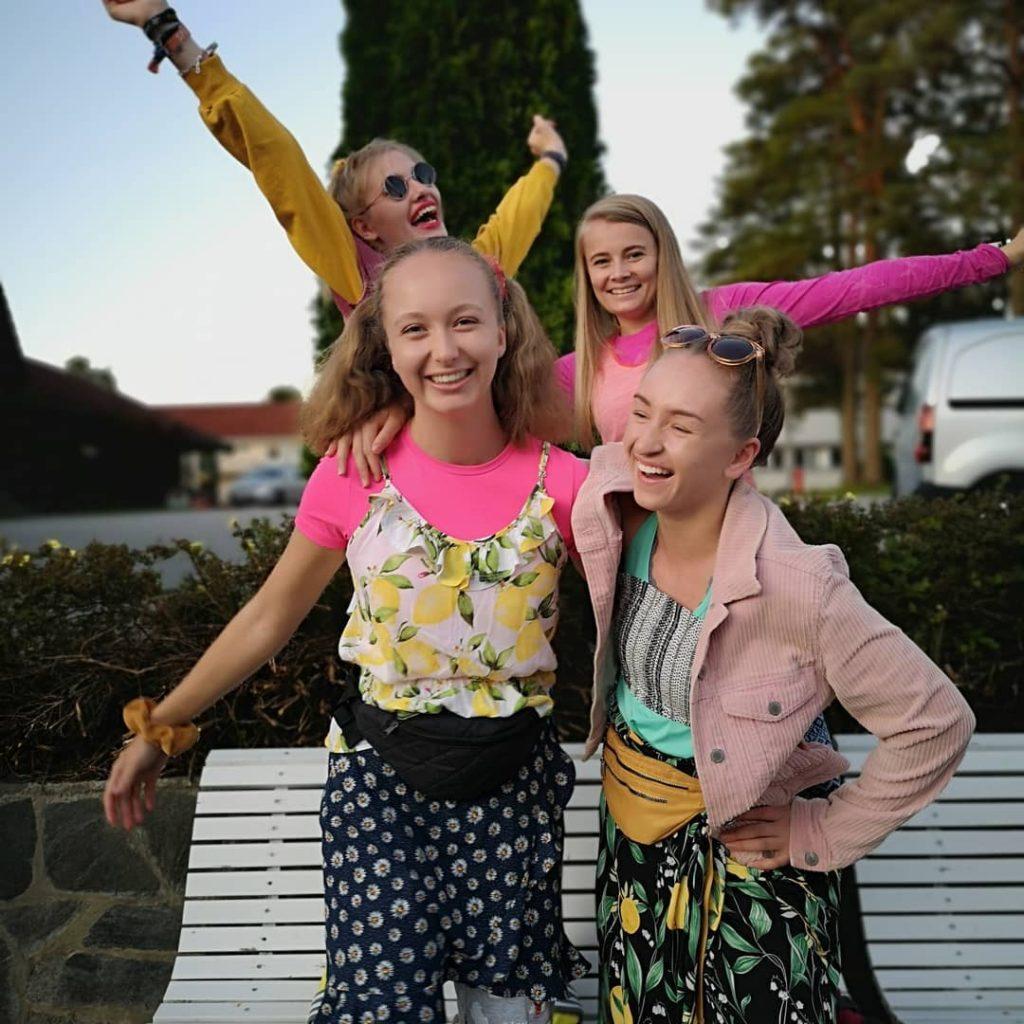 jubel kostymer Folkehøgskolen Sørlandet