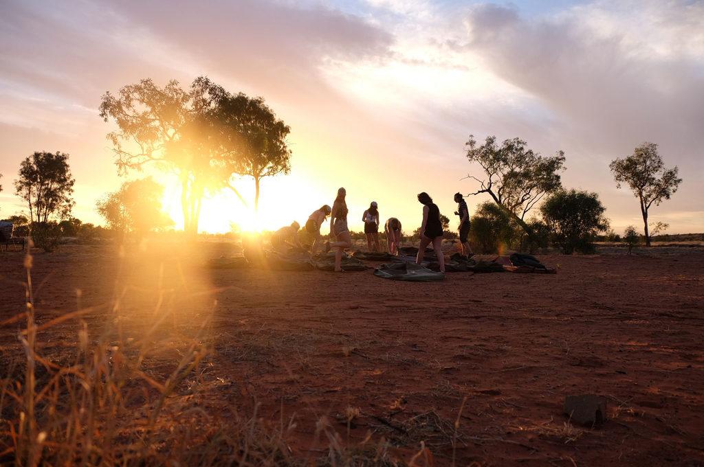 Australia outback Ålesund folkehøgskole