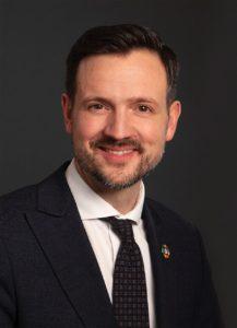 Utviklingsminister Dag Inge Ulstein portrett
