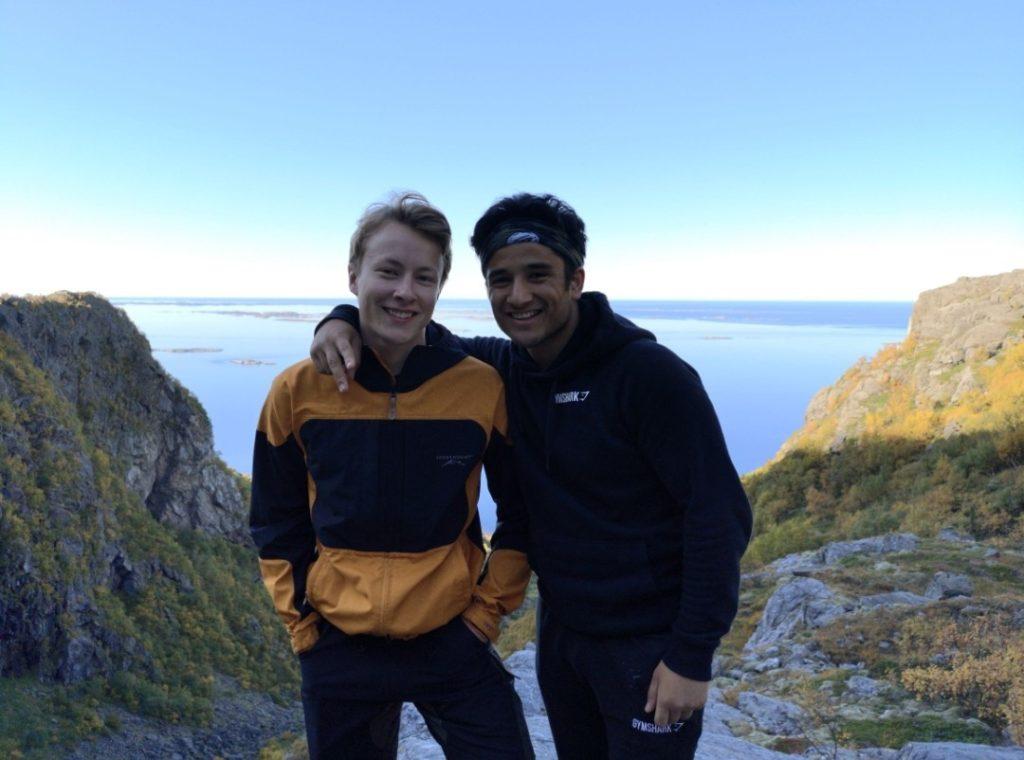 utsikt fjelltur Mosjøen Vefsn folkehøgskole