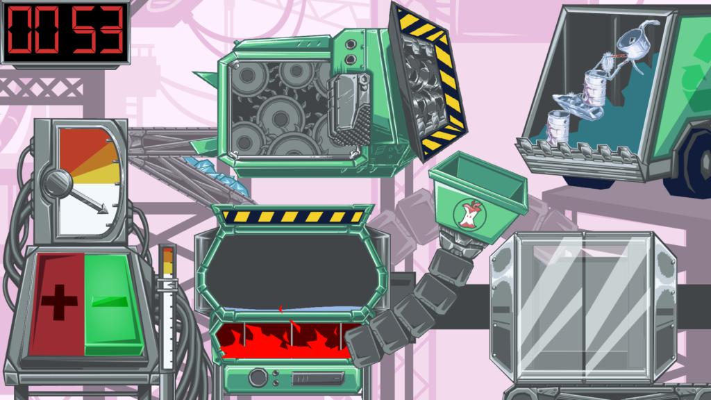 skjermbilde spill om gjenvinning