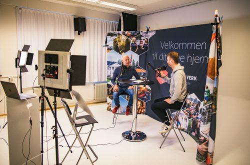 Folkehøgskole hjemme: Dovask, linjekor, treningsøkter og podcast