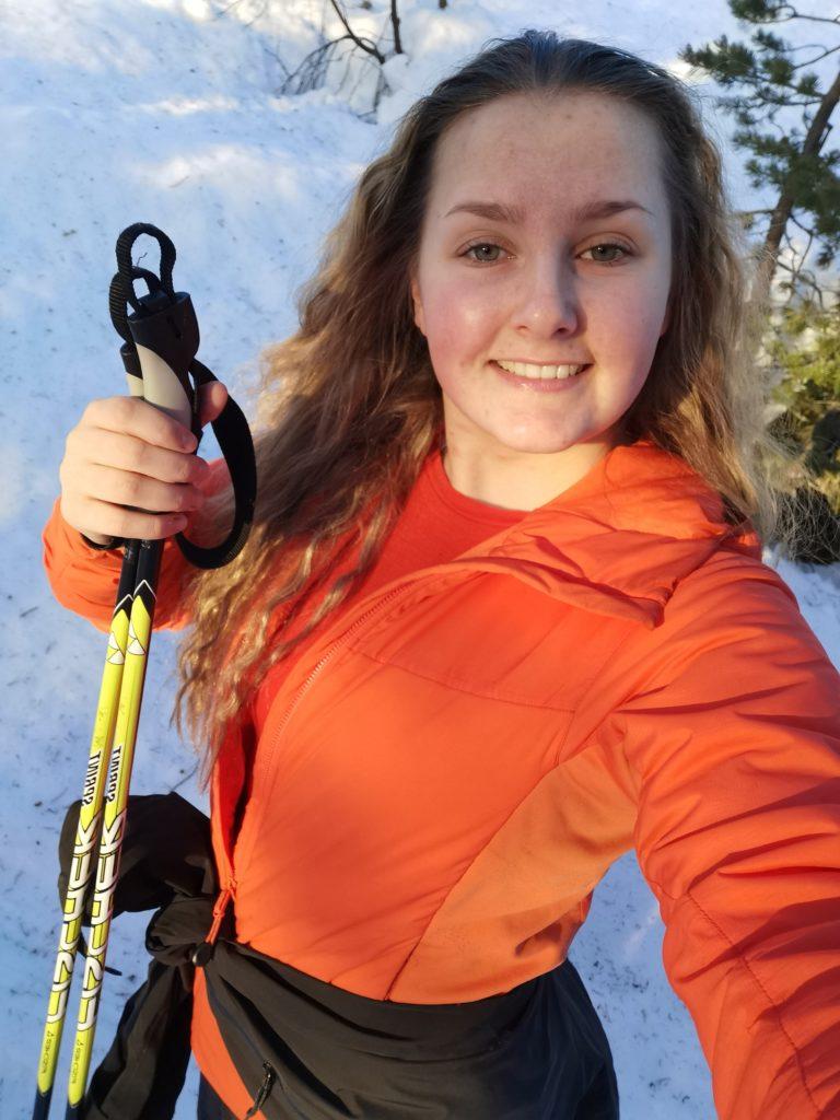 Marte Sofie Wiik skitur portrett