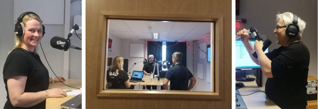 radiostudio innspilling Skjeberg folkehøyskole