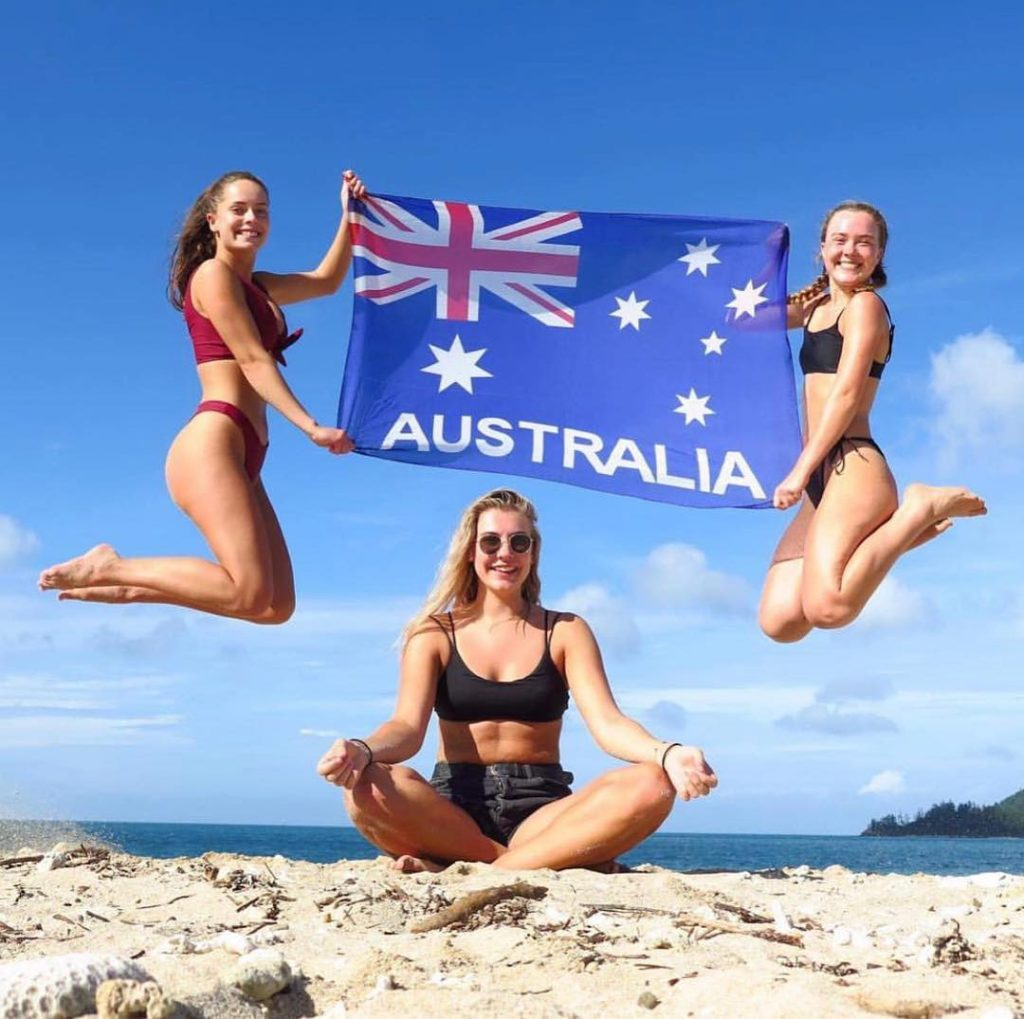 Australia og New Zealand er populært blant norske ungdommer som søker seg til folkehøgskole til høsten. Bilde: Nordhordland folkehøgskole