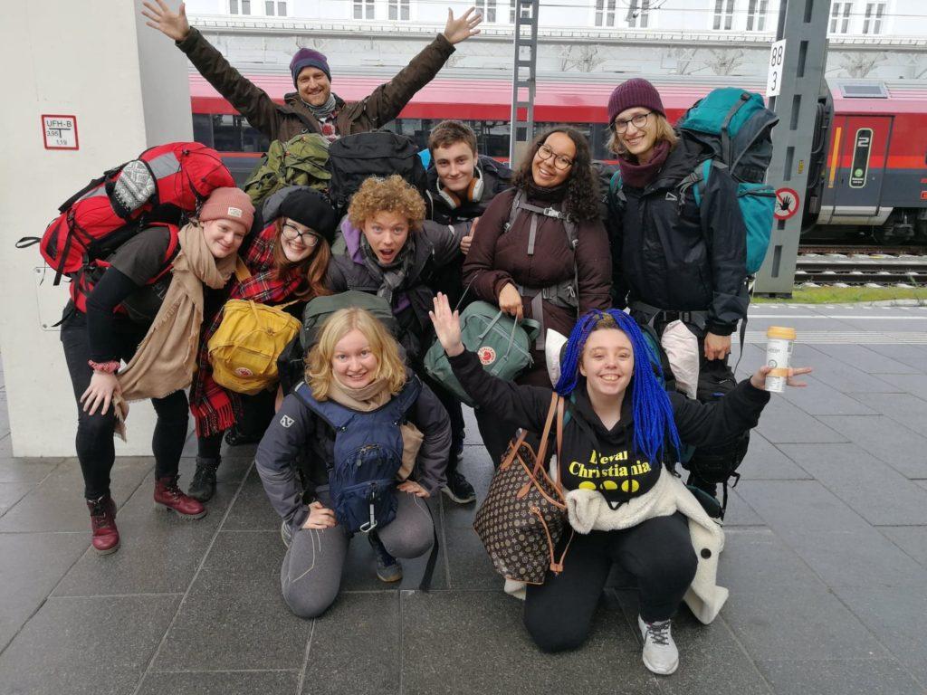 Klassebilde elever Bømlo folkehøgskule