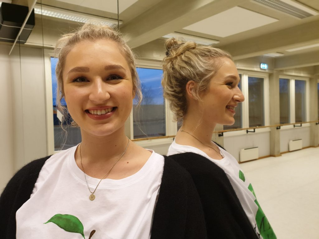 Vibeke Vigdal Øren, portrett, dansesal, speilbilde