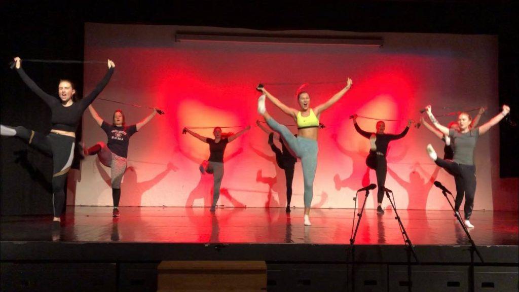 Oppsetning, musikalklassen, dansebilde