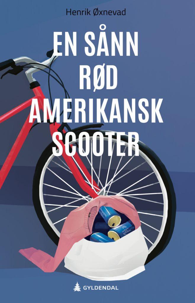 Bilde av bokomslaget på En sånn rød amerikansk scooter