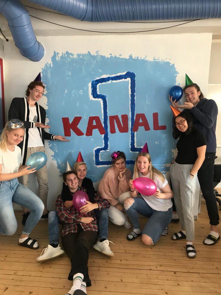 Radioklassen Danvik folkehøgskole, gruppebilde