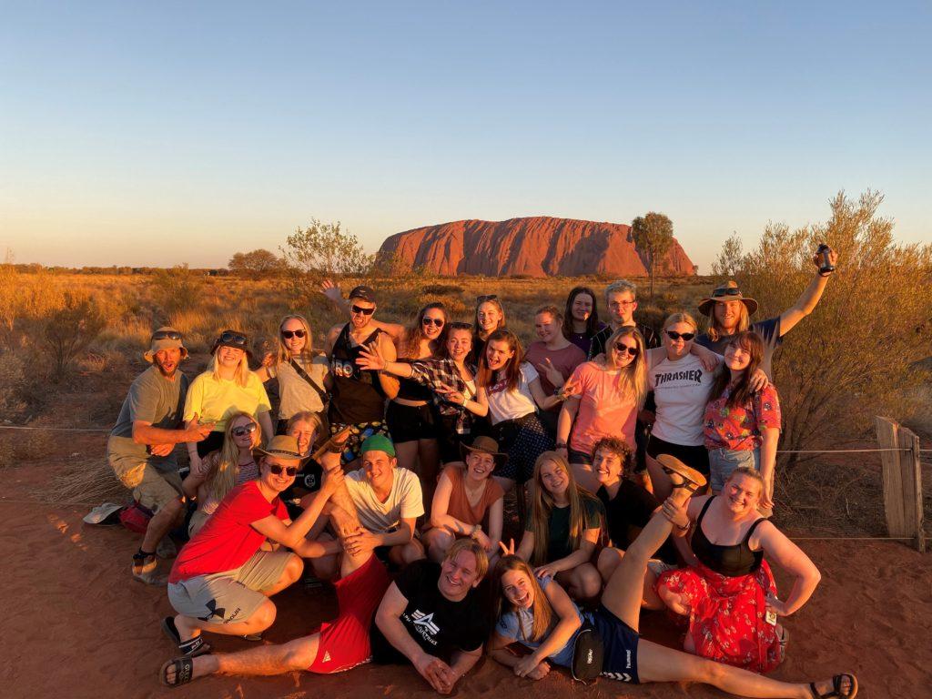 klassebilde, Australia, ute