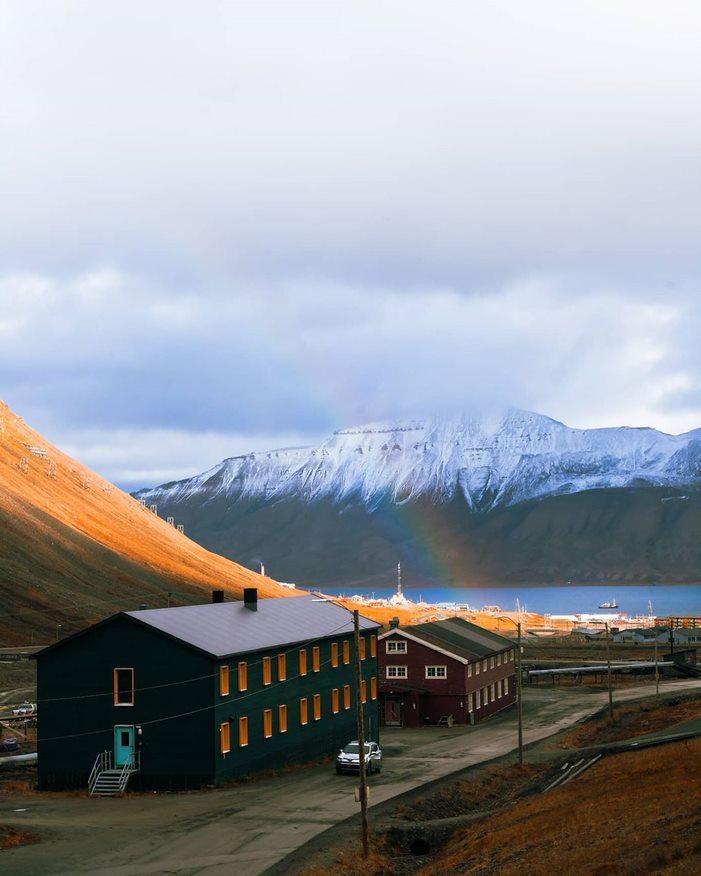 Svalbard folkehøgskole, internat