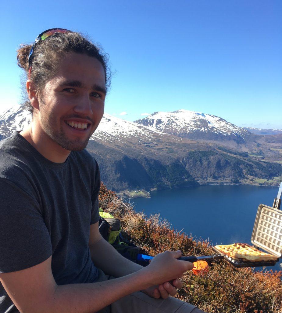 Johannes, portrett, utsikt, fjell